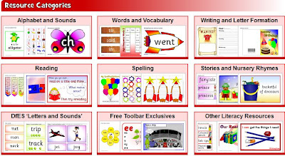 Primary Literacy Teaching Resources and Printables - SparkleBox