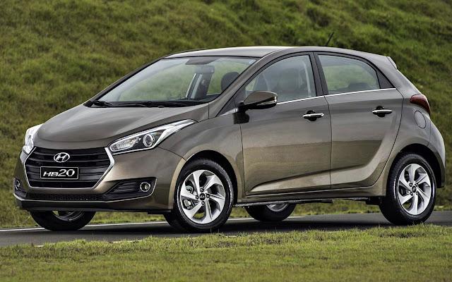 Hyundai HB20 2019 com novo visual parte de R$ 43.990 reais