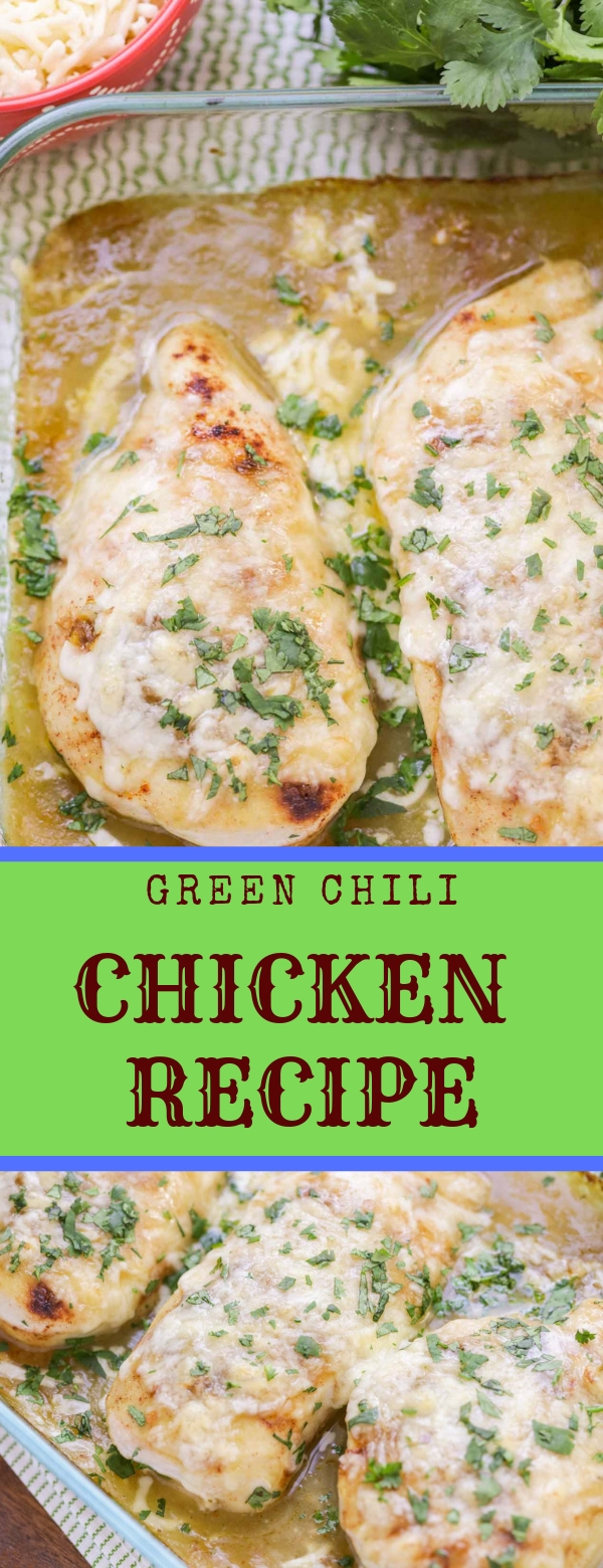 GREEN CHILI CHICKEN RECIPE #GREENCHILI #CHICKEN #DINNER