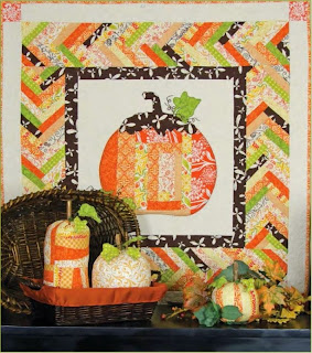 Quilt Inspiration: Free Pattern Day: Halloween : pumpkin quilt patterns - Adamdwight.com