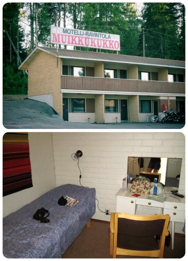 majoitus hotelli Muikkukukko huone