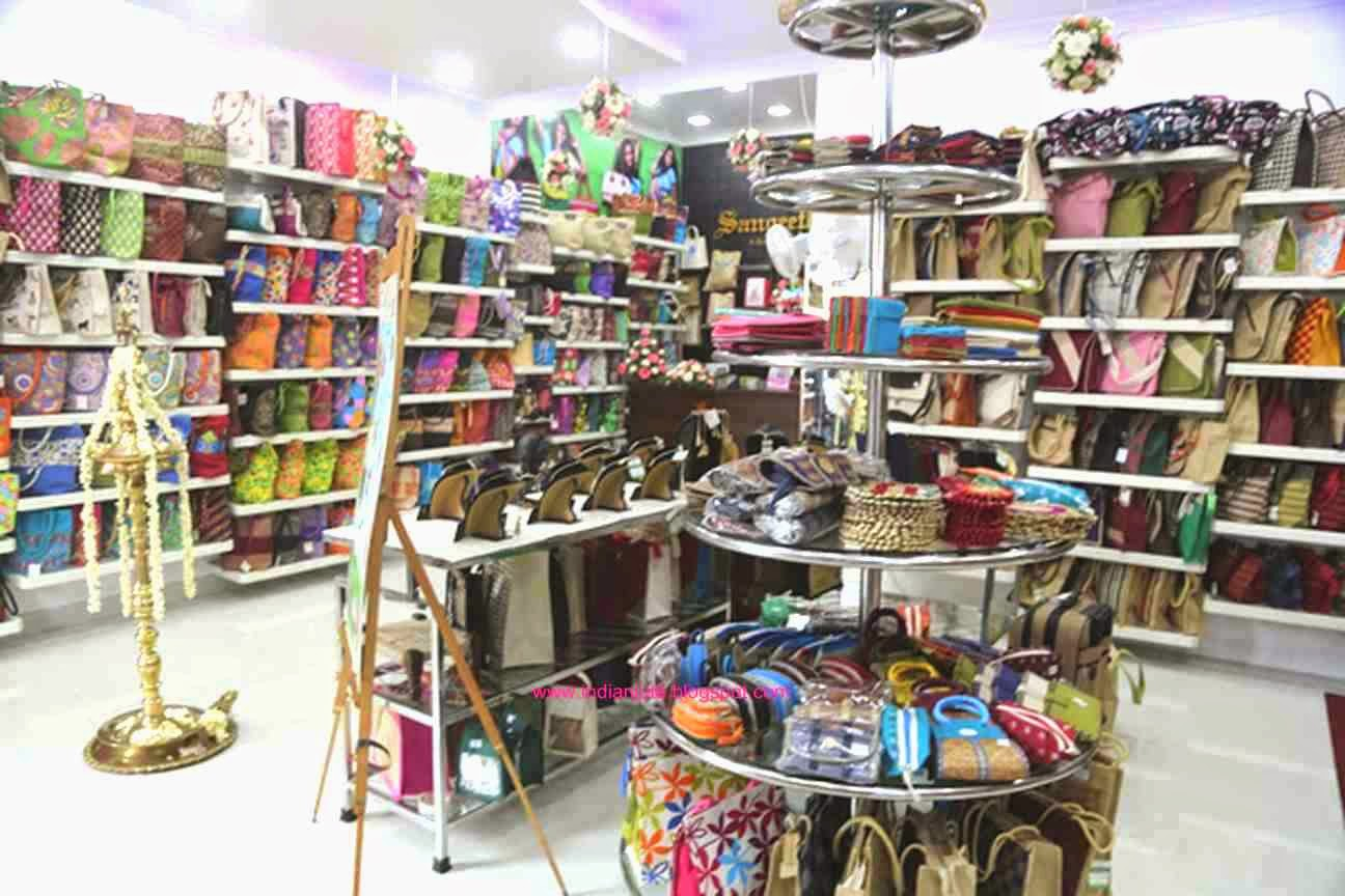 Popular Indian Jute: Jute Showrooms / Retail Outlets in Southern INDIA DE67