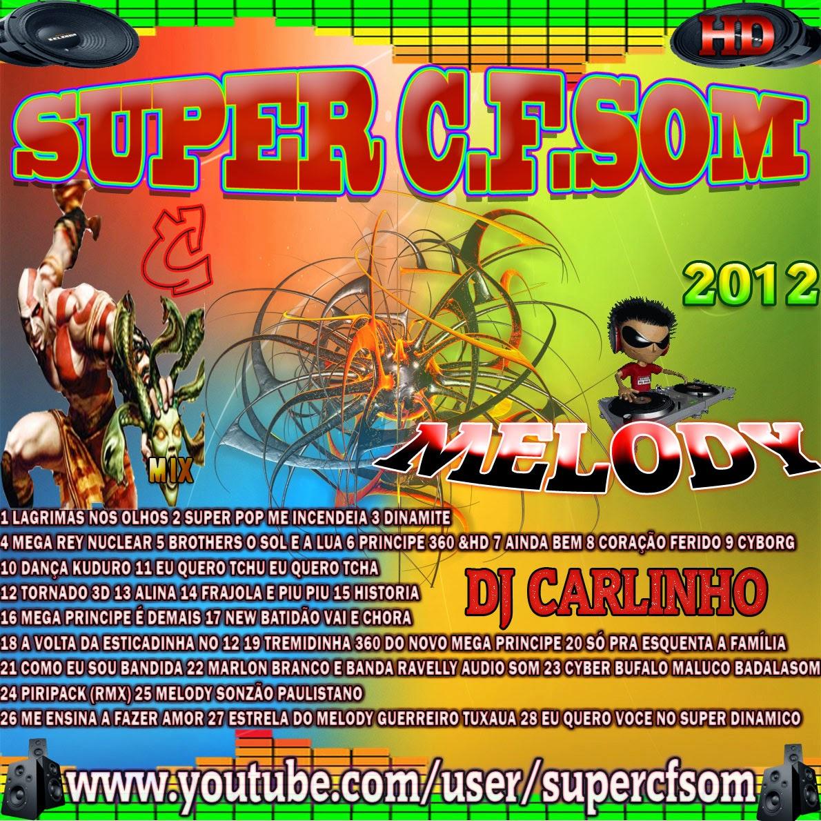 2012 BAIXAR CD TECNOMELODY