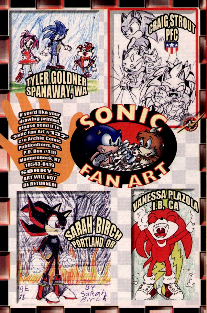 Read online Sonic The Hedgehog comic -  Issue #132 - 27