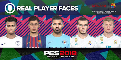 PES 2018 Facepack Vol 3 by Denis