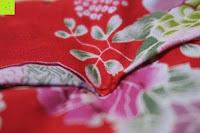 Verarbeitung Kissen: Japanische Maneki Neko Glückskatze aus Porzellan (Klein, 12 cm)