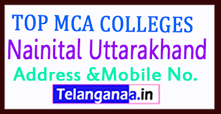 Top MCA Colleges in Nainital Uttarakhand