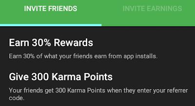 AppKarma Referral Code 2019: siter   Get 300 Points Sign up