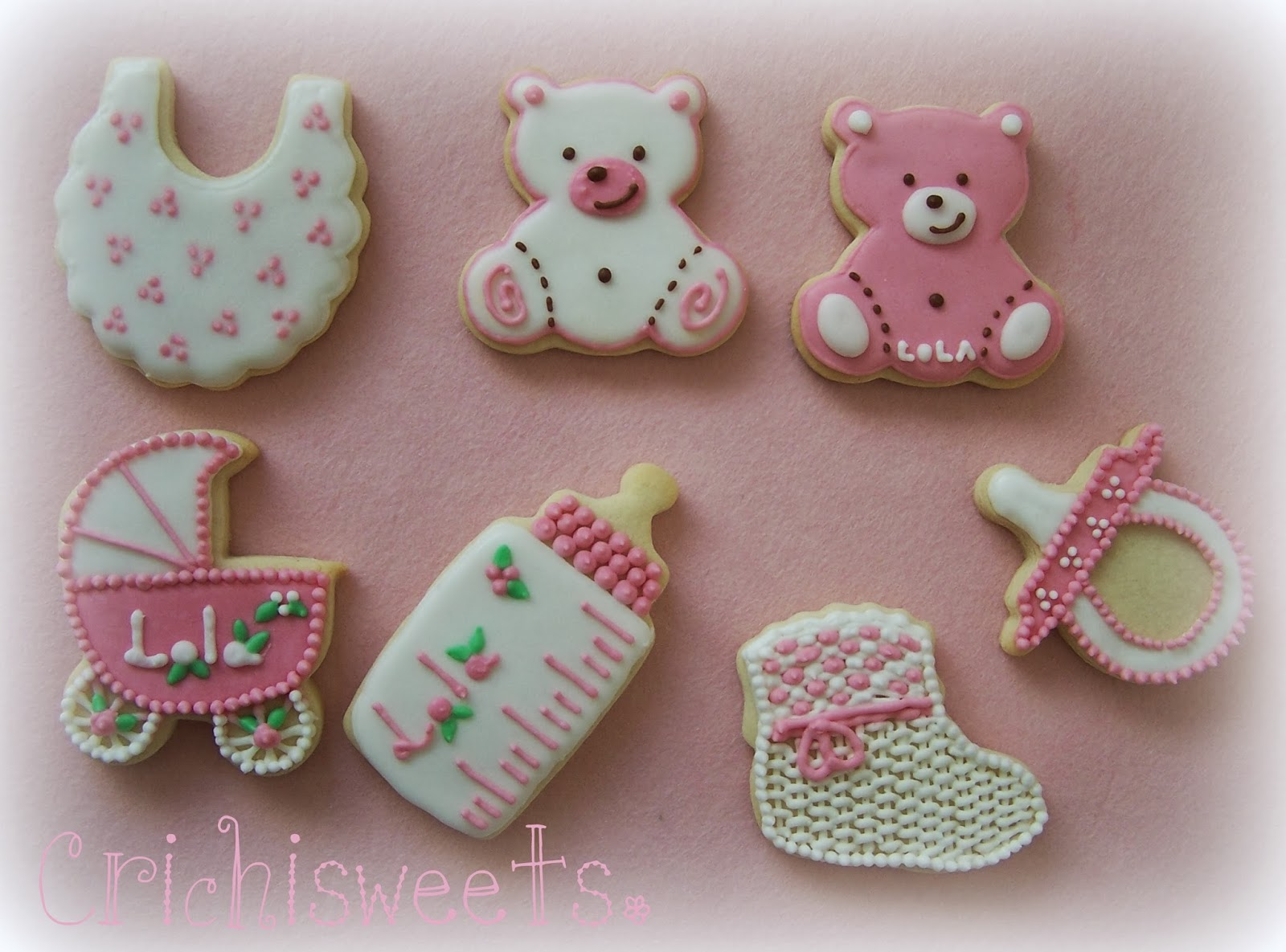 Galletas Decoradas Baby Shower Galletas Baby Shower De Lola