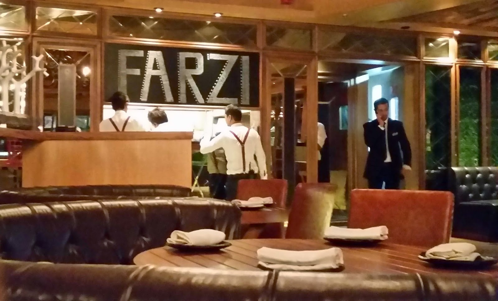 Farzi Cafe Interiors