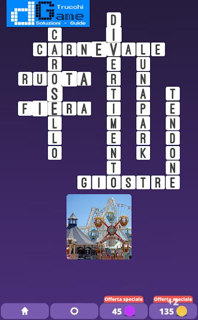 Soluzioni One Clue Crossword livello 17 schemi 4 (Cruciverba illustrato)  | Parole e foto