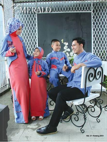 Model Baju Muslim Seragam Family Terbaru