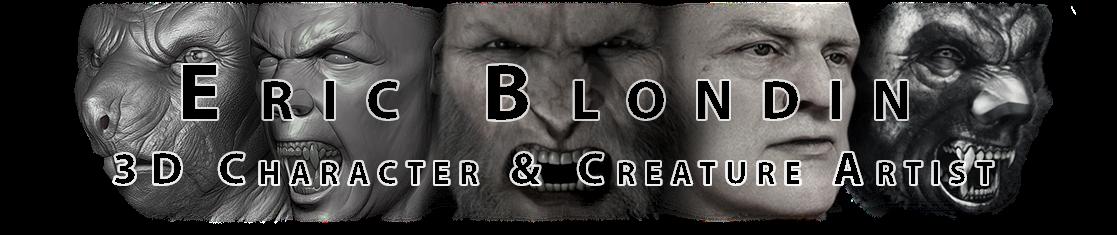 Eric Blondin  -  3D Character Artist