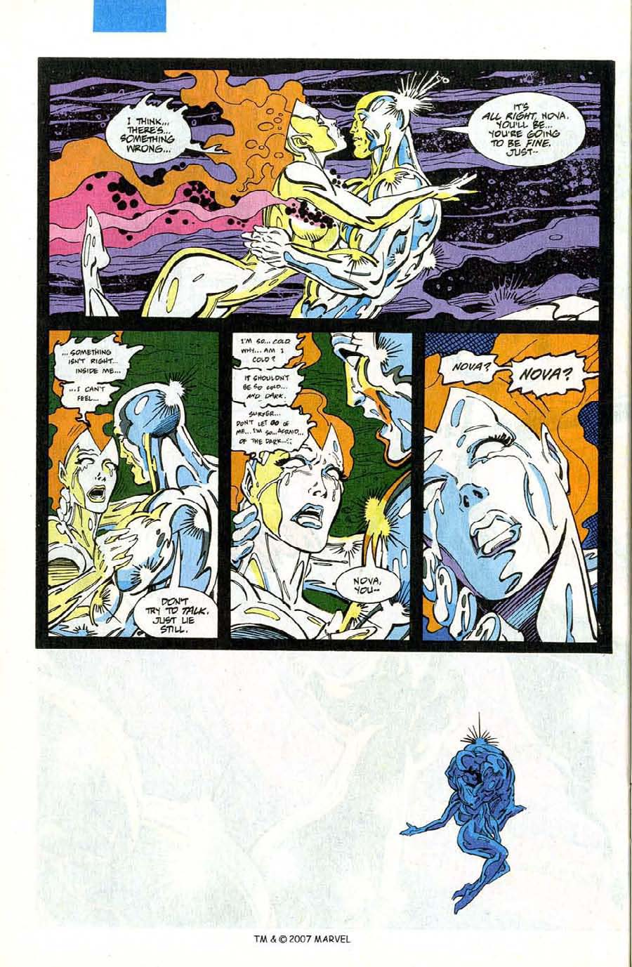 Read online Silver Surfer (1987) comic -  Issue #75 - 36