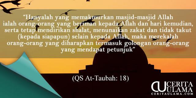 Kutipan Qur'an - At-Taubah, Ayat 18