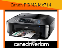 Canon PIXMA MX714 Drivers -  For Windows, Mac and Linux