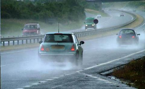 أنواع الأمطار