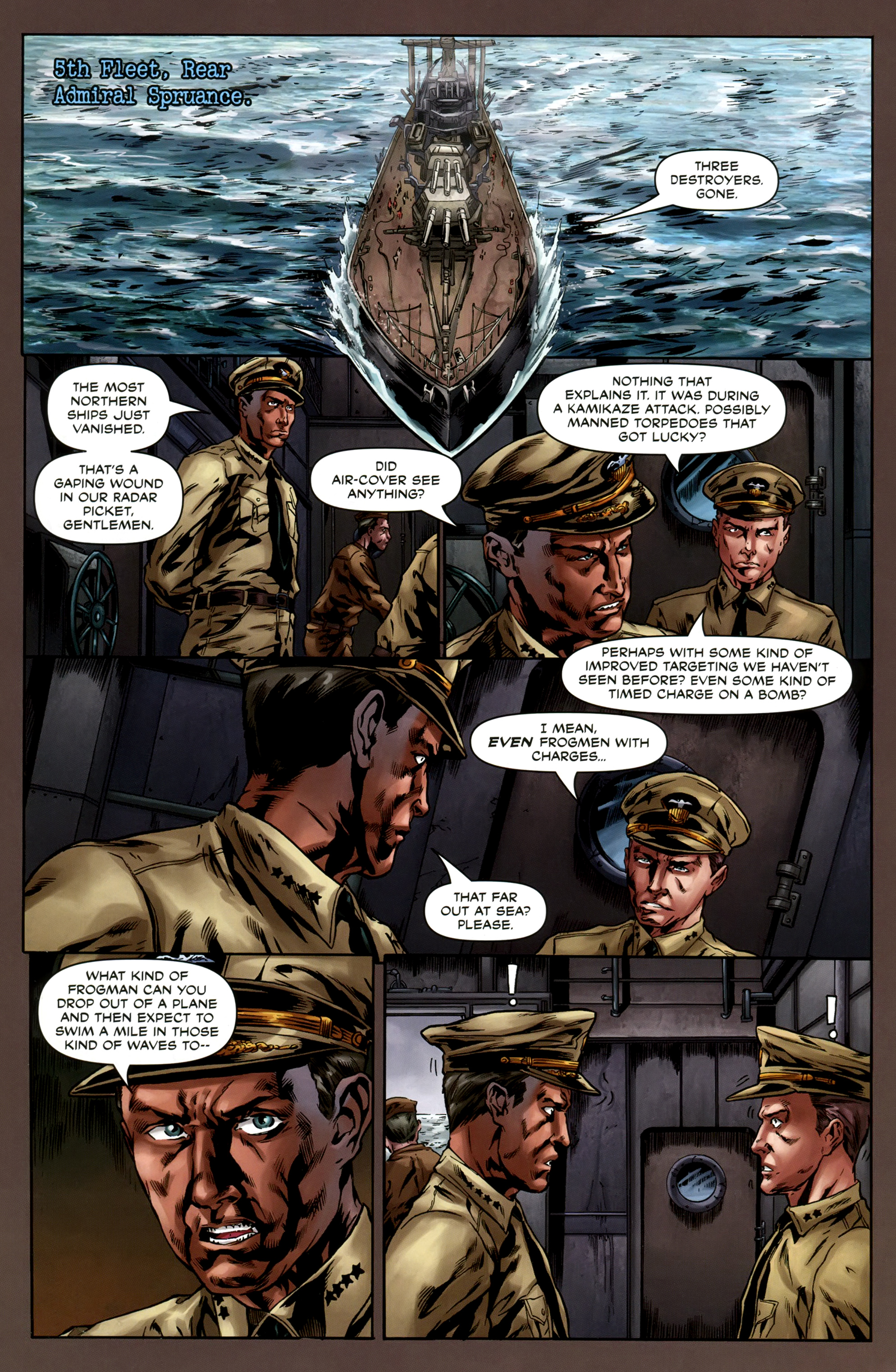 Read online Uber comic -  Issue #6 - 22
