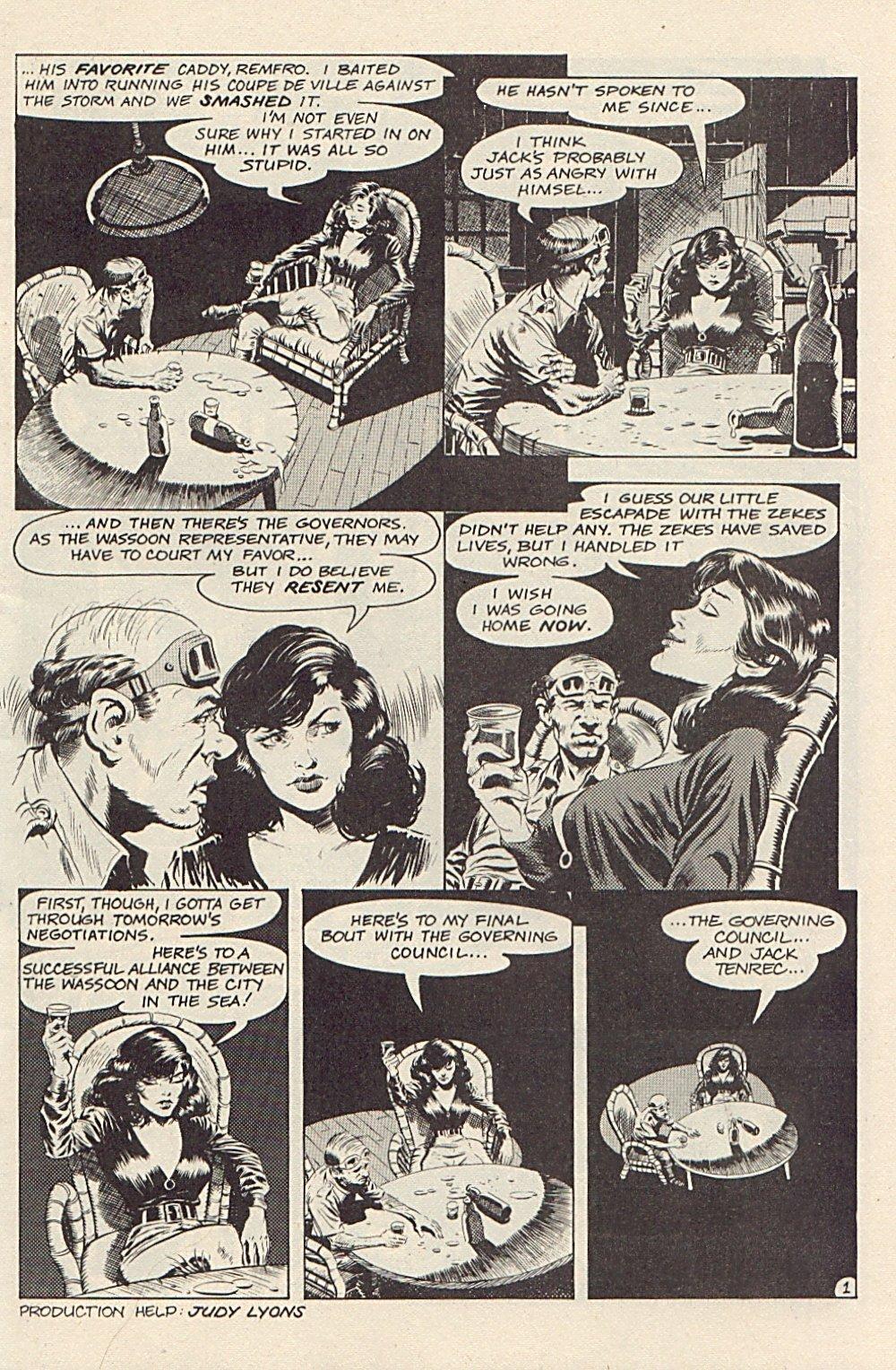 Read online Xenozoic Tales comic -  Issue #3 - 4