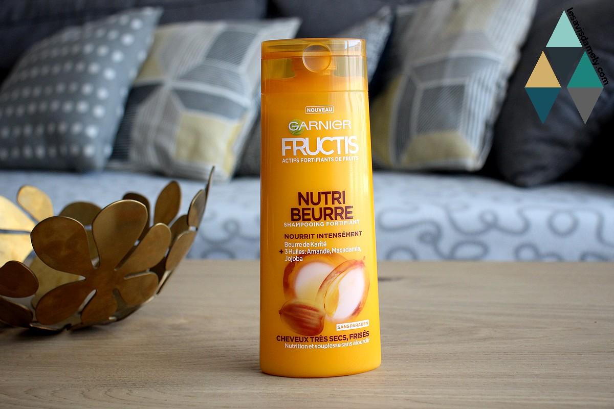 shampooing nourrissant karité et 3 huiles cheveux secs