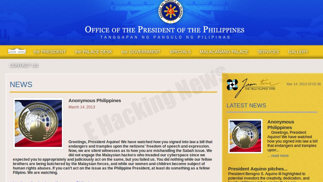 Vuln Pertamina Official Site: Philippines President Site & Other Government Sites Hacked
