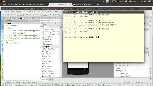 Cara Koneksi ADB Andromax AD688G Ubuntu 14.04