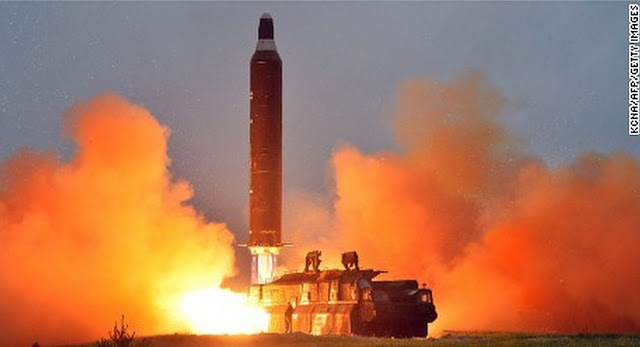 Pukguksong-2 TEL based Missile Launch / Source: KCNA