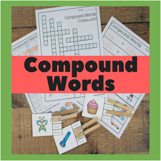 compound words pirntables