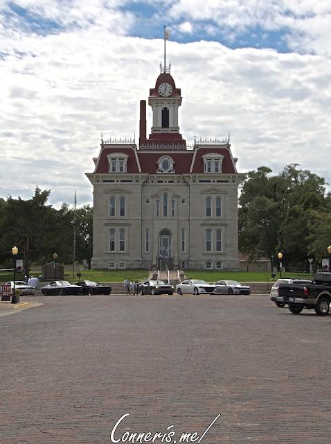 Chase County Courthouse Cottonwood Falls KS