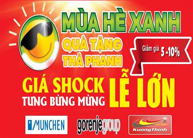 Bếp từ munchen gm 5656 khuyến mại siêu hot tháng 6