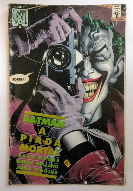 Batman - A Piada Mortal (Graphic Novel # 05)