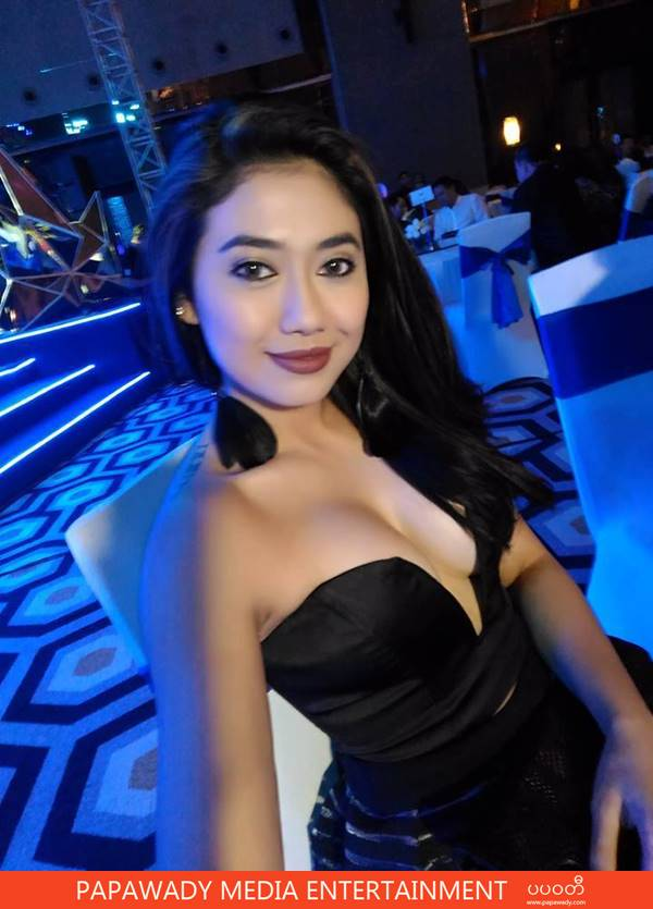 Thinzar Wint Kyaw Attends Asus ZenFone grand opening