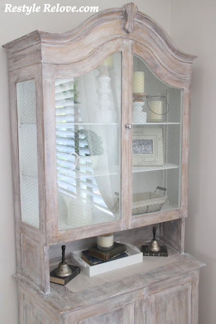 Farmhouse Style Display Cabinet
