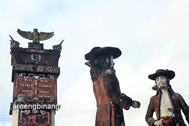 parang patung sarapung korengkeng tondano minahasa sulawesi utara