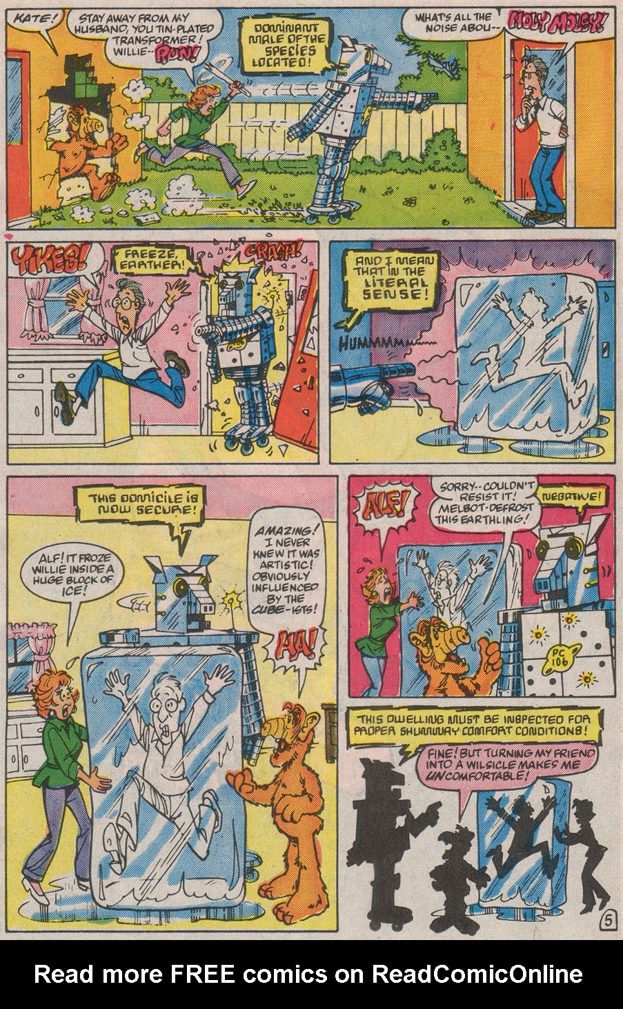 Read online ALF comic -  Issue #13 - 26