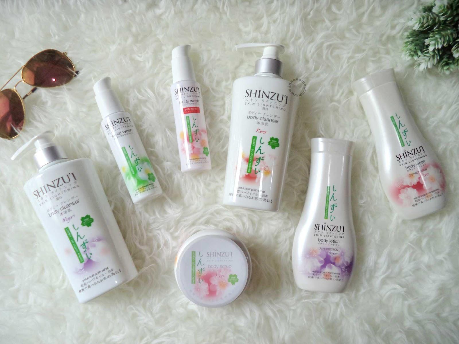 Review Shinzu I Facial Wash Dan Body Lotion Cara Mudah Memutihkan Kulit Wajah Dan Badan Innovamei