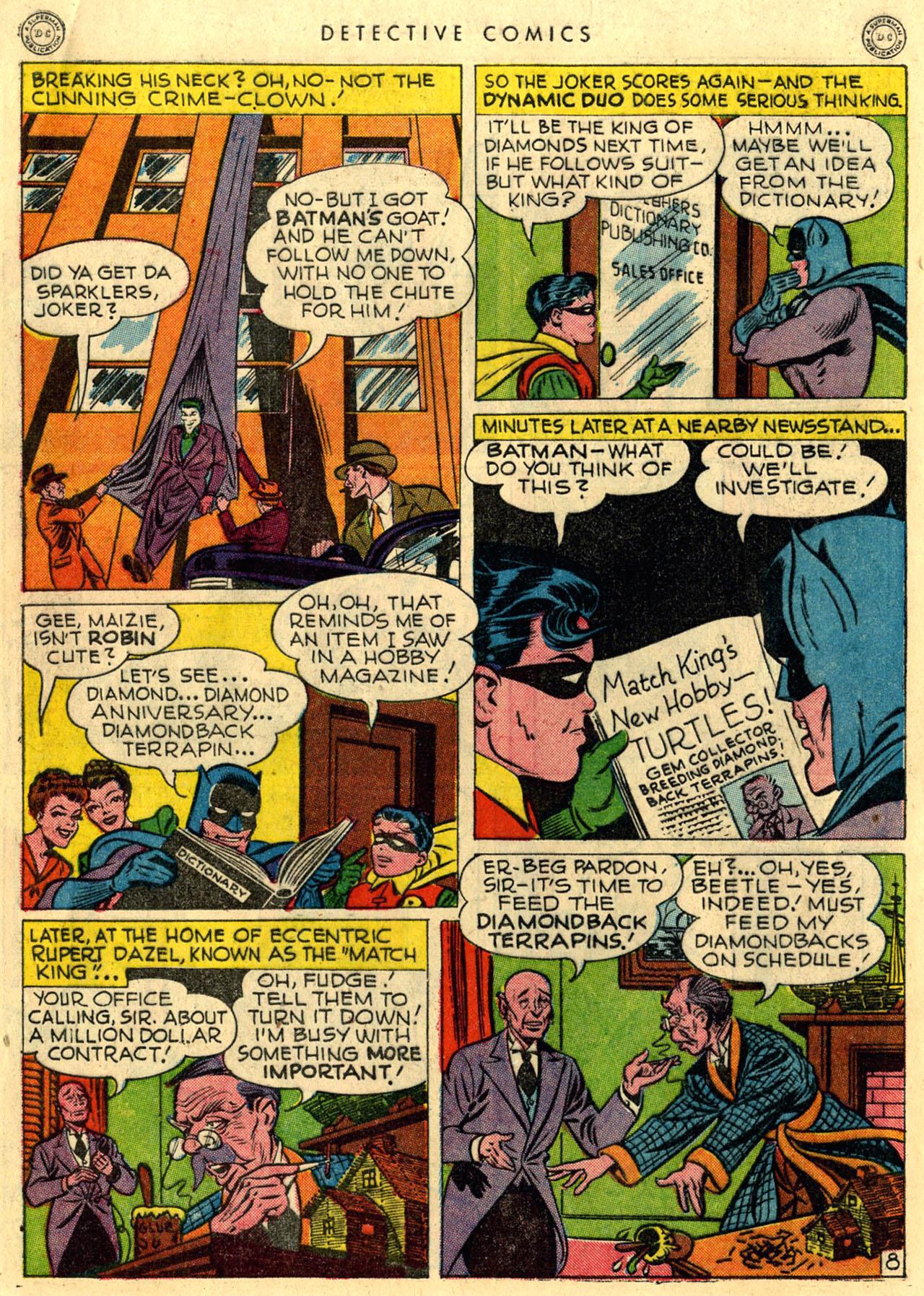 Read online Detective Comics (1937) comic -  Issue #118 - 10