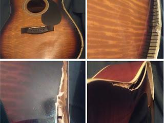 верхняя дека гитары