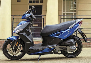 2017 Kymco City+ 50 Review, Two-stroke Pocket Rocket!