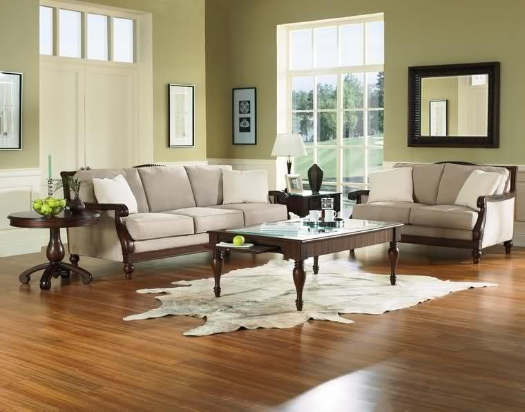 Ichiro japanese sala set made of uratex foam mahogany - Wall design for living room philippines ...