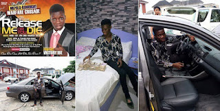 See Teenage Pastor Currently Flaunting Millions (photos)