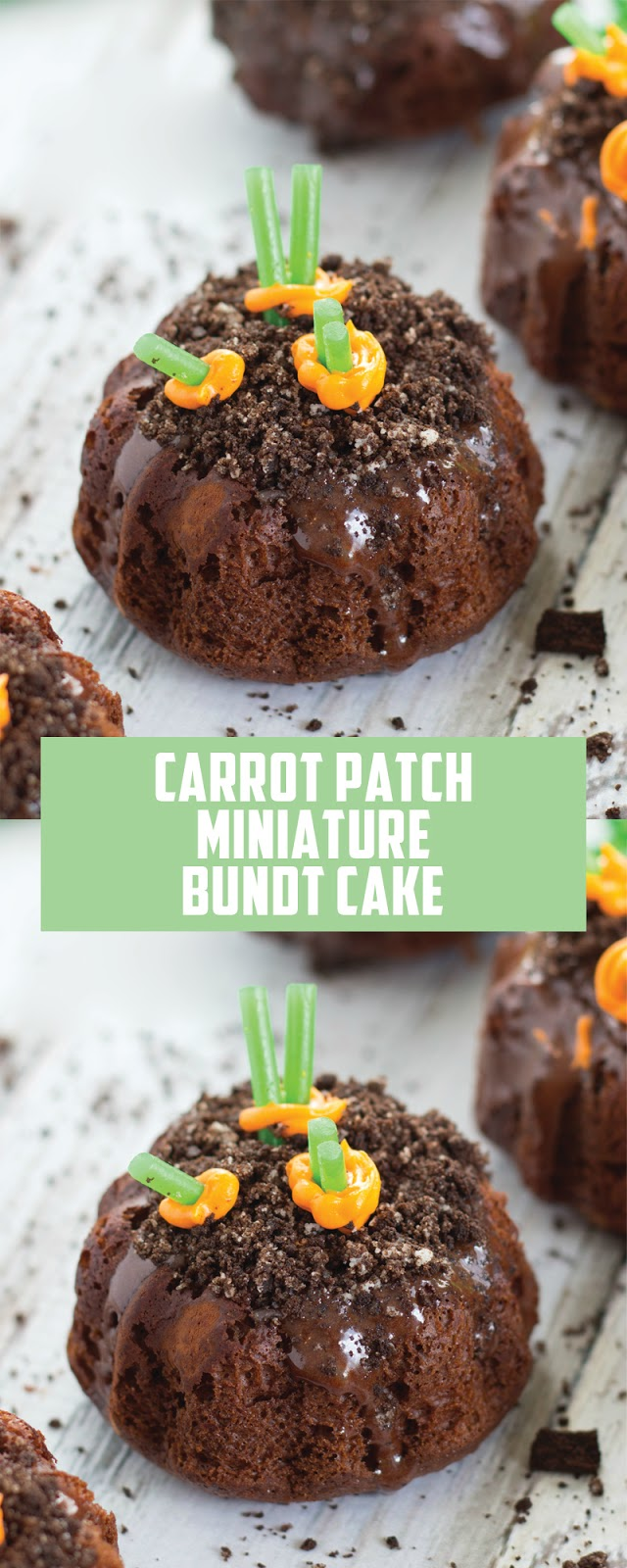 CARROT PATCH MINIATURE BUNDT CAKES