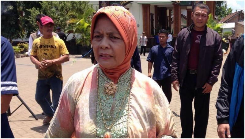 Marwah Daud berkunjung ke Padepokan Dimas Kanjeng
