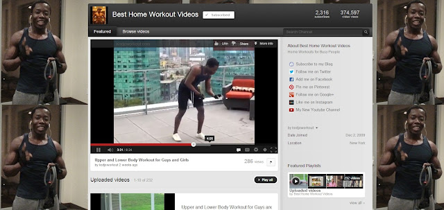 top youtube fitness channels