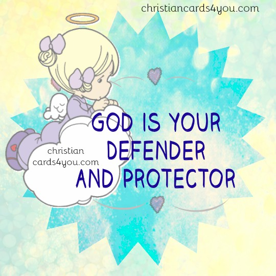 Bible verses, Psalm 91, free christian quotes with nice image, Scripture, Protection of the Lord, Defender and Protector is God. Mery Bracho posts.