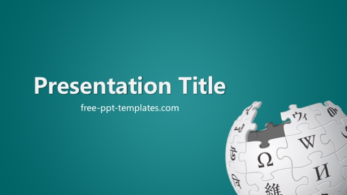 Wikipedia PowerPoint Template