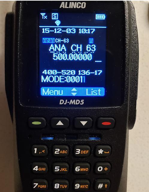 Alinco 480 MHz  520 MHz