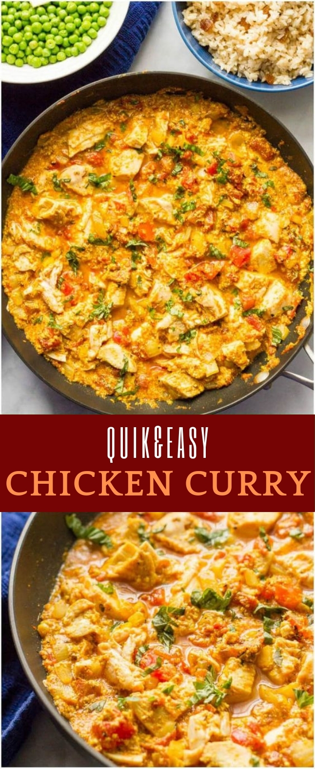 Quick Chicken Curry #Curry #Spicy