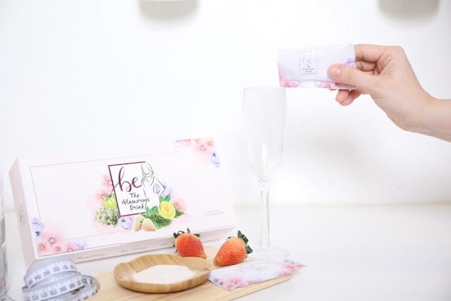 Be The Glamorous Drink Minuman Kecantikan Dengan Teknologi Dari Jepun