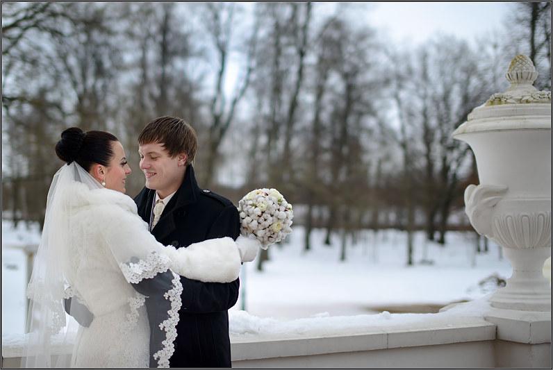 Romantiškos vestuvės žiemą